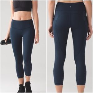 Lululemon All the Right Places Crop Noct Teal 2